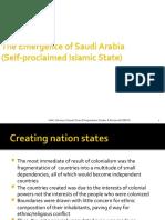 The Emergence of Saudi Arabia