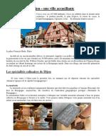 Dijon - une ville accueillante