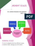 Statistics for Social Science 2