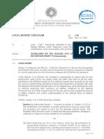 Bayanihan Grant to Provinces Local Budget Circular No 126