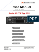Becker Audio 10 ECE Typ 6011