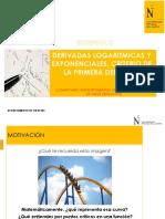 SEMANA 3_PPT_Derivadas logarítmicas y exponenciales, funciones crecientes y extremos relativos.pdf