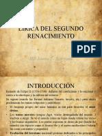 LIRICA DEL SEGUNDO RENACIMIENTO