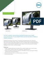 Dell  P2213 brochure