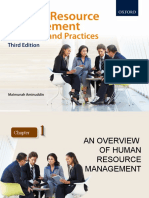 Chapter 1 An Overview of Human Resource Management