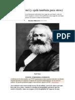 varios articulos sobre marxismo