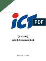 BR1500 ccTalk Command List--SWD-06