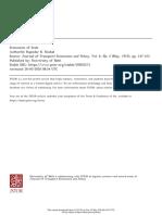 JSTOR Economies of scale