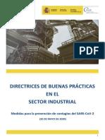 Directrices de buenas prácticas en la Industria