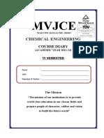 course diary VI sem.pdf