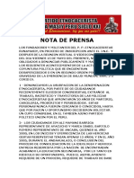 NOTA DE PRENSA RUNAMASIY (1)