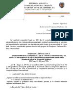 initiativa legislativa Platforma DA