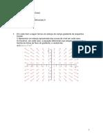 Exercícios Cálculo III