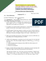 PE Assisgnment 1 2019