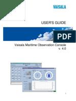 Maritime Observation Console_En