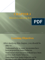 Chapter 03 Effective Leadership Behavior (1)