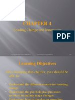 Chapter 04 Leading Change and Innovation