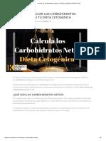 Calcula los carbohidratos netos en tu dieta cetogénica _ Mundo Keto