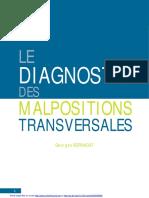 Le diagnostic des malpositions transversales