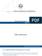 VinPlus & SQL Installation
