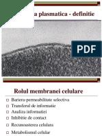 Membranele celulare