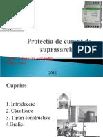 Protectia de curent de suprasarcina