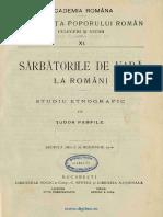 Sarbatorile de vara la romani