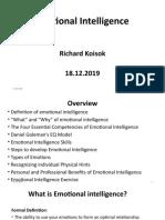 Emotional Intelligence PPT  18.11.2019