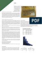 Demonstration and Study of Slip Gauges