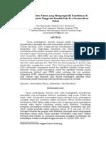 Analisis Faktor-Faktor yang Mempengaruhi Penurunan Kemiskinan di daerah Pertanian Tinggi dan Rendah Pada Era Desentralisasi Fiskal