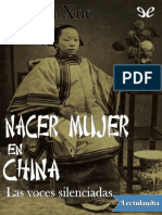 Nacer mujer en China - Xinran Xue