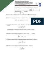Examen de Calculo Diferencial e Integral Ccesa007