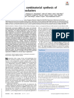 High-throughput, combinatorial synthesis of MMNCs