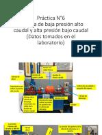 Práctica N° 6 Sistema de alto caudal, baja presion - bajo caudal, alta presion (1)