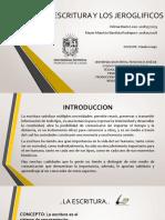LA ESCRITURA Y LOS JEROGLIFICOS[605].pptx