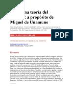 Ferrari - Hacia una teoría del prólogo. A propósito de Miguel de Unamuno