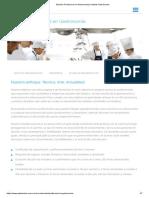 Estudiar Profesional en Gastronomia _ Instituto Gato Dumas