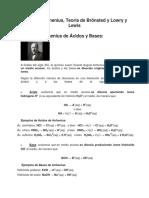 Teoría de Arrhenius, Teoría de Brönsted y Lowry y Lewis.pdf