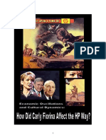 Dissertation on HP culture and Carly by Heledd Straker