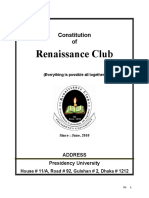 Constitution Renaissance Club.doc