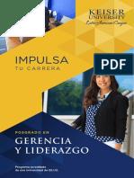Posgrado en Gerencia y Liderazgo 2020
