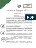 Directiva Para Atencion de Denuncias 2015