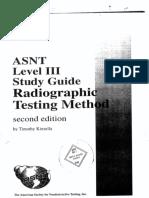 Asnt Level III RT