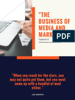 THE BUSINESS OF MEDIA & MARKETING