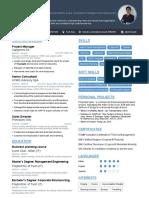 Lisanti Alberto - Curriculum Vitae (CV, Resume)