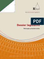 DOSSIER- Legislativo Mensajes presidenciales . Roca