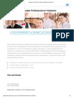 Estudiar Profesional en Hotelería _ Instituto Gato Dumas