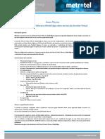 Especificación Técnica y Alcance de Servicio Servidor Virtual Backup - Anexo Firewall Virtual VMware