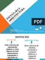 Escultura y Arquitectura- artistica 7º