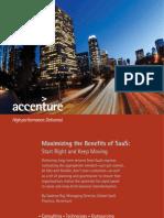Accenture SaaS PoV March 2010